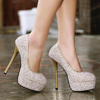 Sell Women 39 S Platform Bridal Pumps Korean High Heels With