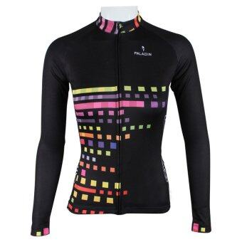 Harga Women's Cycling Outdoor Long Sleeve Jersey Quick-Dry