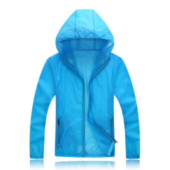 Xia Xin outdoor thin section breathable sports coat (817 female blue)