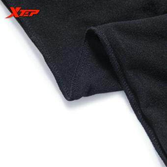 XTEP Men's Running Pants Tights Compression Skin Basic LayerTraining Body Building Fitness (Black/Green) - 5