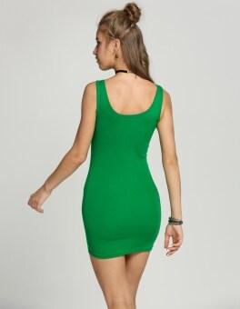 Yika Women Bodycon Sleeveless Mini Dress (Pink) - 4