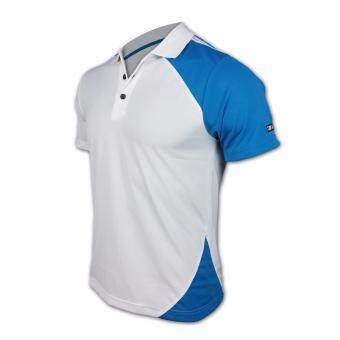 YLC POLO 1125-WHITE/BLUE