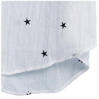 Zanzea Women V-Neck Star Print Casual Loose Blouse - 3