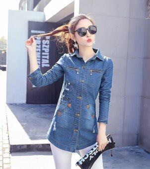 Harga ZASHION Denim Jacket Collection (Blue)