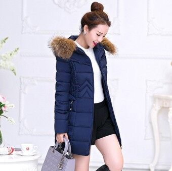 Harga Zashion Premium Winter Down - Winter Jacket - Winter Coat - NAVY