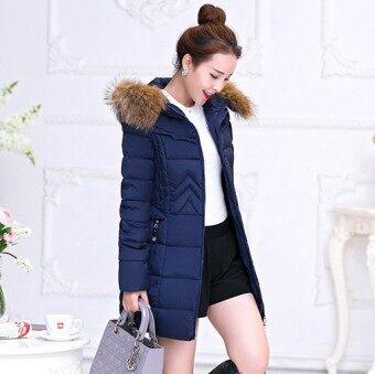 Zashion Premium Winter Down - Winter Jacket - Winter Coat - NAVY