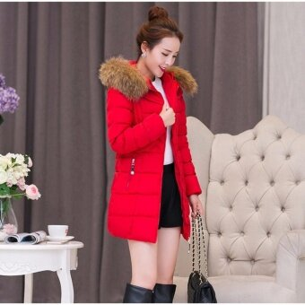 Harga Zashion Premium Winter Down - Winter Jacket - Winter Coat - RED