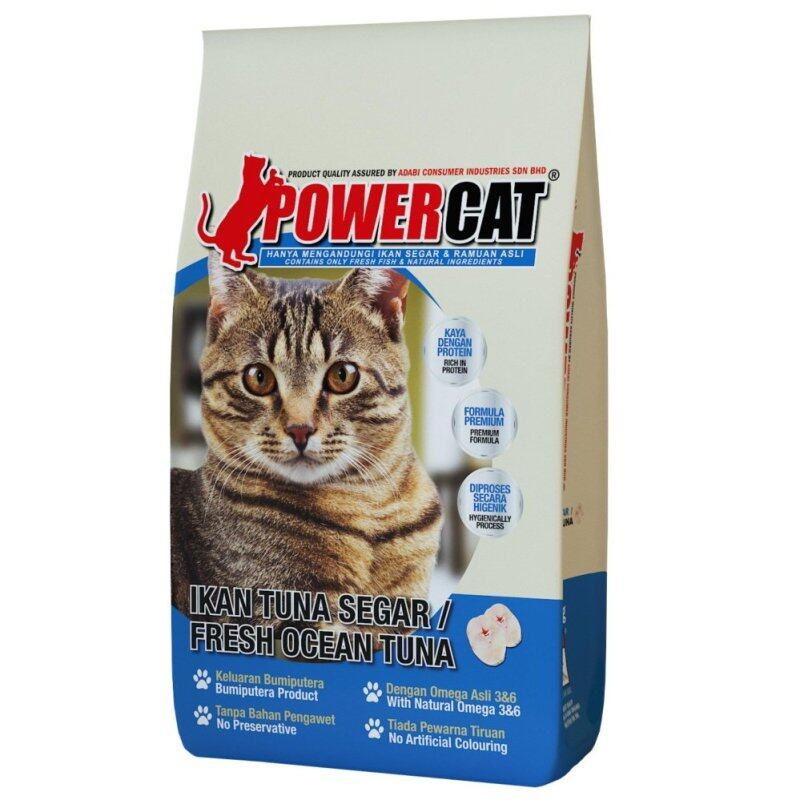 1 x Power Cat Fresh Ocean Tuna 7kg Malaysia