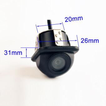 170 Degree Mini Waterproof Car Parking Assistance Reversing Back Rear View Camera HD CCD Wire Car Rear View Camera intl - 2