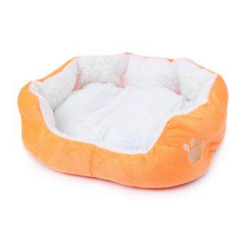 1STOP Premium Pet Bed 50cm x 40cm - Orange