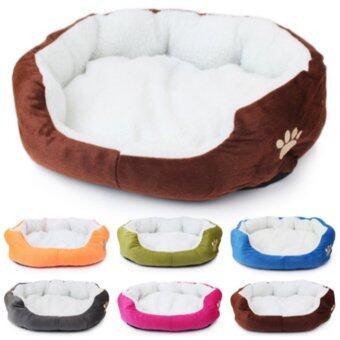 1STOP Premium Pet Bed 60cm x 50cm - Rose Red