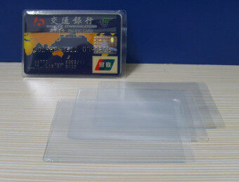 2 card bit double-sided card sets bank card holder anti-magnetic card sets ID card sets dual card bit
