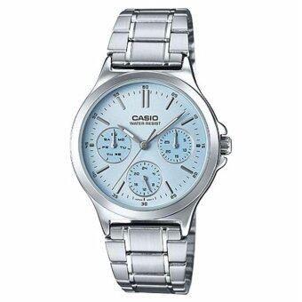 Harga (2 YEARS WARRANTY) CASIO ORIGINAL LTP-V300D-2A LADIES WATCH