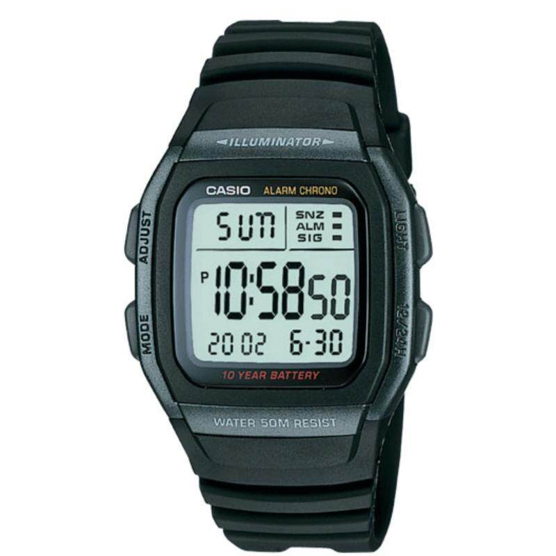 (2 YEARS WARRANTY) CASIO ORIGINAL W-96H-1BV MENS WATCH Malaysia