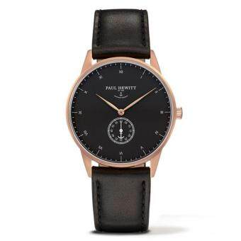 Harga 2017 new two needle watch PAUL HEWITT men's watch rose gold blackrosefield Watch