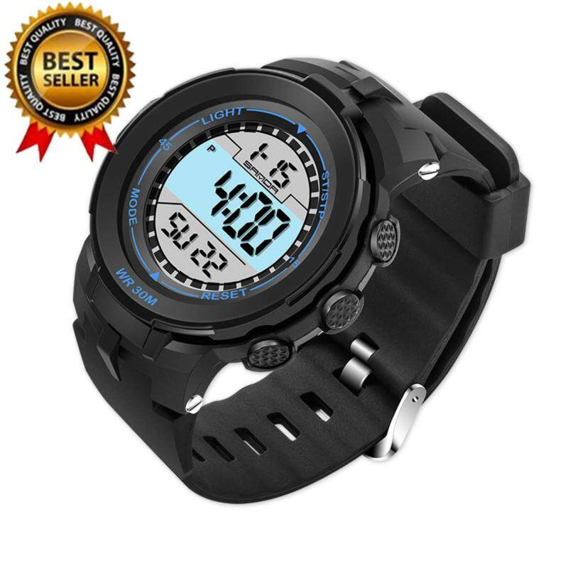 2017 Popular SANDA 340 G Style Male Digital Watch S Shock Men military army Watch water resistant Date Calendar LED Sports Watches Malaysia