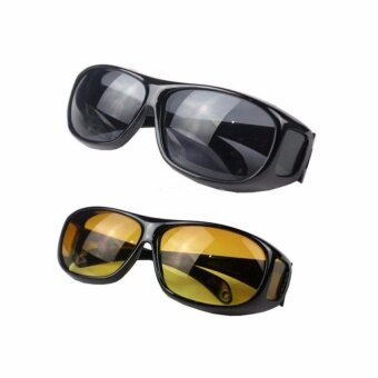2pcs HD Night Vision Driving Sunglasses Sun Glasses ForBestFriendsLovers