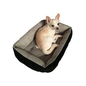 Harga 30x45cm Washable Pets Beds Thick Dog Sofa Soft Punny Bed Luxury Dog Mats Pet Nest Dog Kennels Accessories(Black)