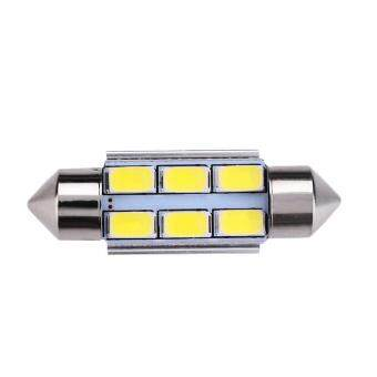 31/36/39/41mm 3W 6 SMD LED Beads Car License Plate Trunk LightUniversal