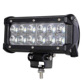 "Harga 36W 7"" Flood Sportlight CREE LED Chips Work Lights 4x4 4WD OffRoadDriving Led Light"