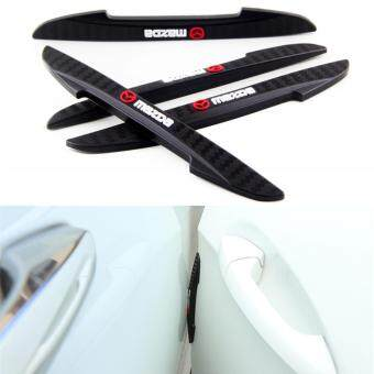 Harga 4pcs Car Sticker Door Protector Door Side Edge Automobileanticollision strip for MAZDA