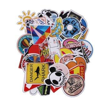 50Pcs Gravity Falls Sticker For Car Laptop Luggage Skateboardotorcycle