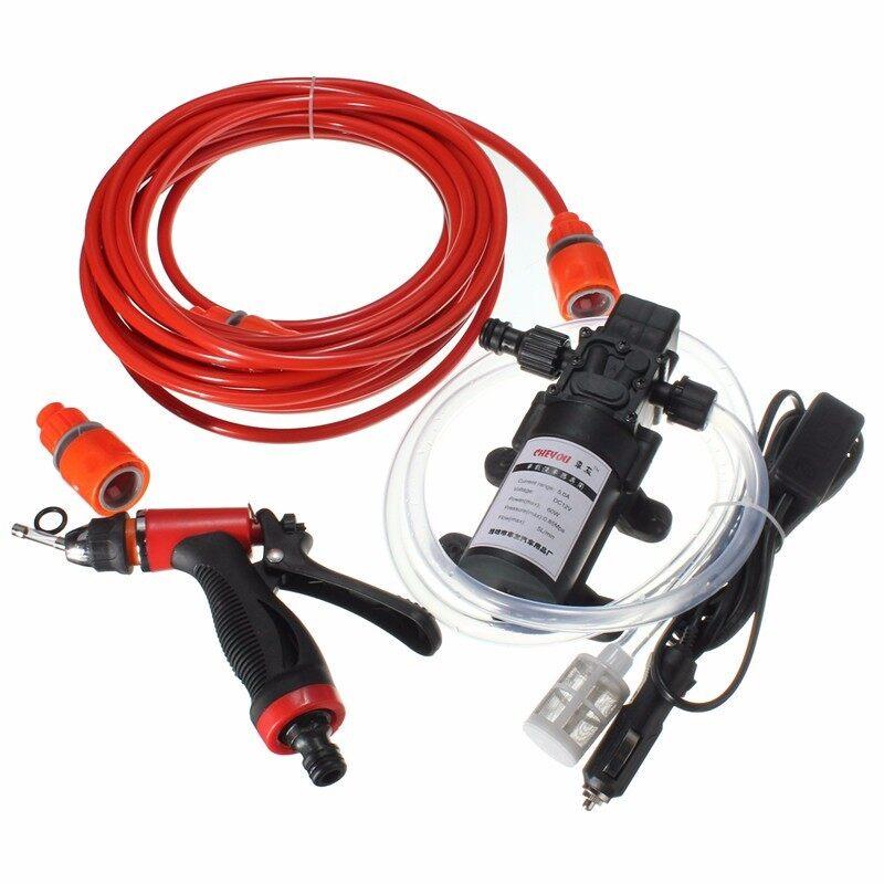 EverCute 60W High Pressure Self-priming Electric Car Portable Wash Washer Water Pump 12V -