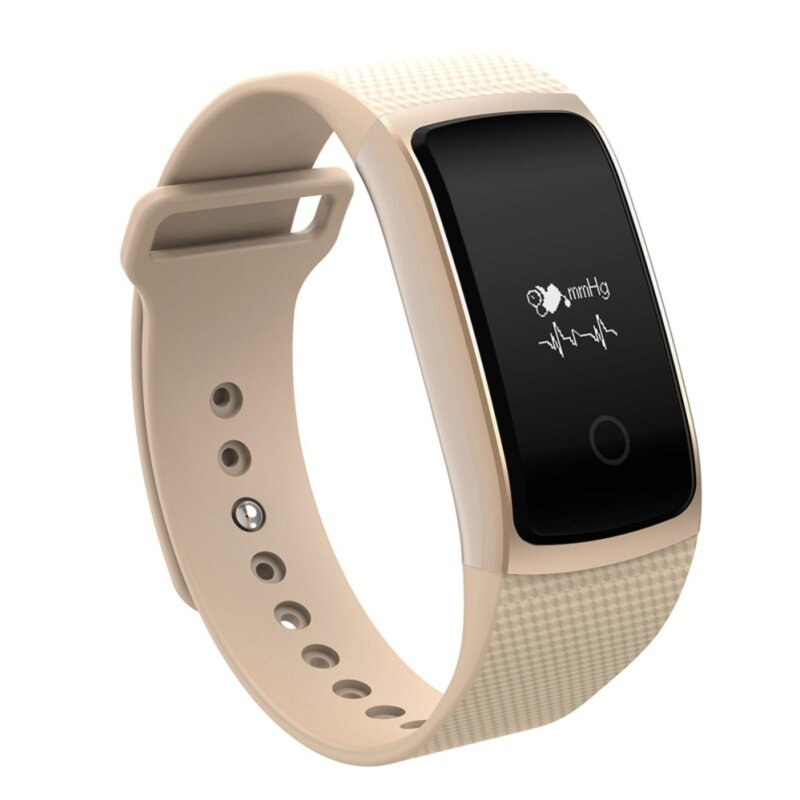 A09 REAL-TIME HEART RATE SMART BRACELET BLOOD OXYGEN PRESSURE MONITOR FATIGUE INDEX WRISTBAND (GOLDEN) 23.50 x 2.30 x 1.30 cm Malaysia