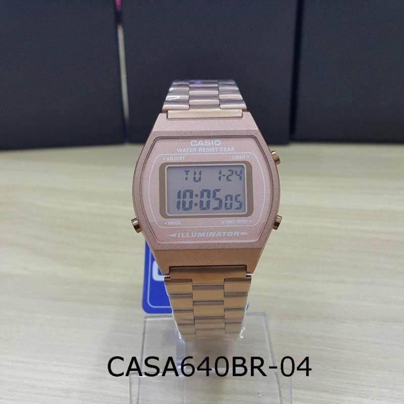 A168W & B640W Rose Gold Watch Ready Stock Malaysia