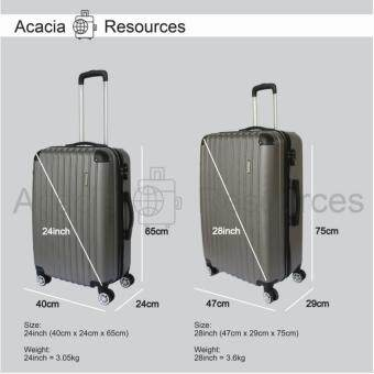 Harga ACGR TSA Lock Special Edition Stripe Luggage (28+24inch)