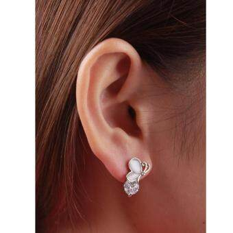 Harga AFGY FGA 210 Daily Earrings in Gold/Silver Plated with Rhinestone