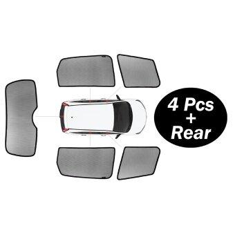 Amerguard Customized Car Sun Shade For 5th Gen. 2011- 2016 HYUNDAIELANTRA (4pcs +1 FREE Back Rear) - 2