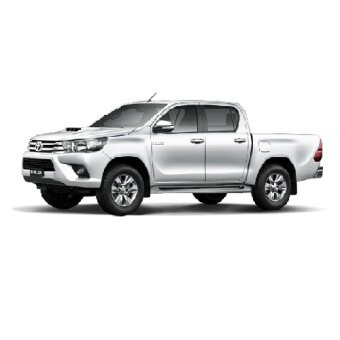 Amerguard Customized Car Sun Shade For 7th Generation 2004-2015TOYOTA HILUX ( 4pcs Sets+ 1 FREE Back Rear)