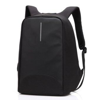 Anti-theft Business Laptop Backpack with USB Charging Port Fits to15.6 Inch Computer Lightweight Water-resistant Knapsack Black