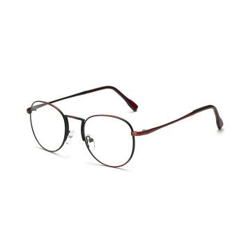 AORON Brand Retro Reading Glasses Anti-fatigue Computers GlassesAnti-blue Light Eyeglasses 1001(Red Wine) - 4