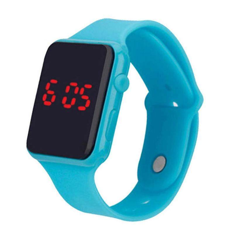 Arctic Land Electronic LED Silicone Watch Bracelet Touch Screen For Children Kids Boys Girls Malaysia