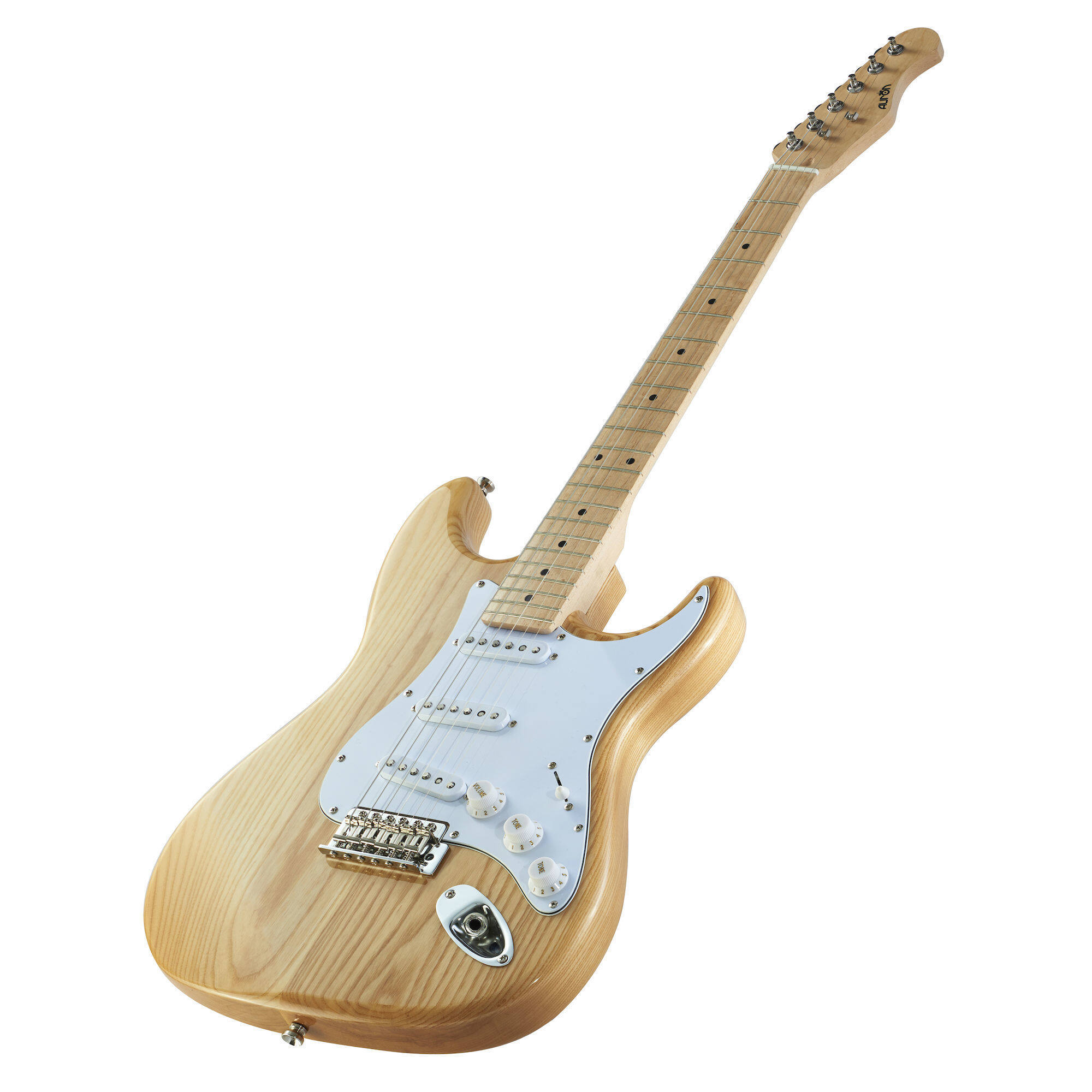 Unusual Bass Pickup Configurations Tiny 5 Way Import Switch Wiring Regular Installing A Remote Start Bulldog Car Alarms Old Ibanez Hsh BrightOne Humbucker One Volume Auron Slim Strat Style Electric Guitar   Guitar Bag (Natural Wood ..