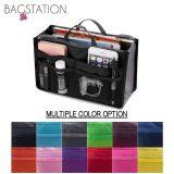 BAGSTATIONZ Premium Lightweight And Water-Resistant Multi-Compartment Bag-In-Bag Organizer (Black)
