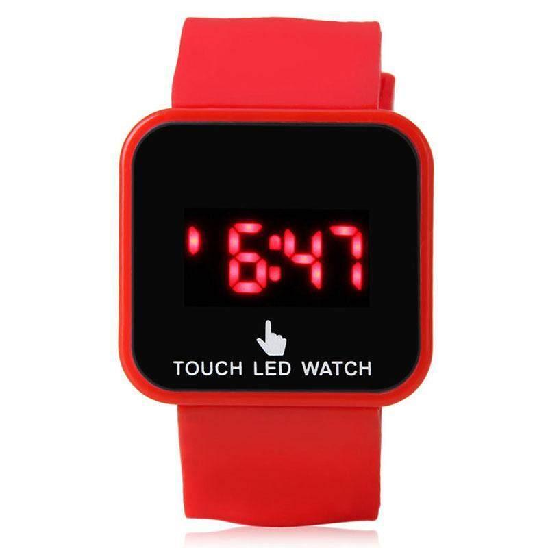 Bellamall: LED Touch Screen Wrist Watch Time Date For Men Women Unisex School Kids Children Malaysia