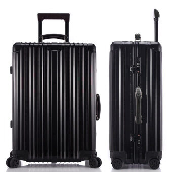 Harga Best Cabin Luggage Sale Brand suitcase Sizes 26 Inch Black