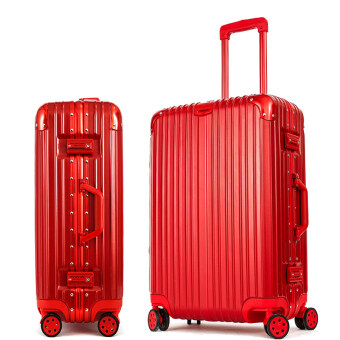 Harga Best Luggage Sale Brand suitcase Sizes 26 Inch Red