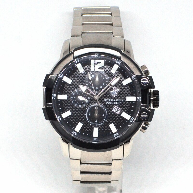Beverly Hills Polo Club Gents Watch 8019G-SS-4 Malaysia