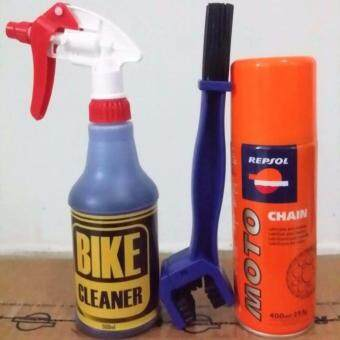Harga Bike Cleaner to your beloved motorcycle chain cleaning & care.