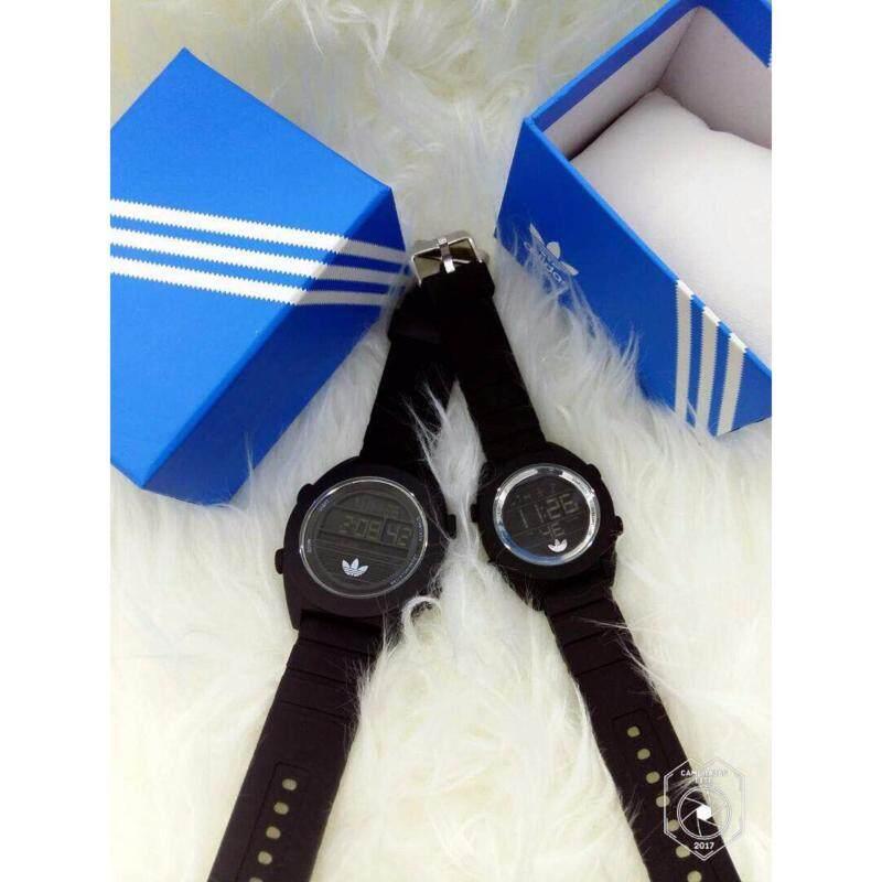 Black Silver Couple Watch Adidas Malaysia