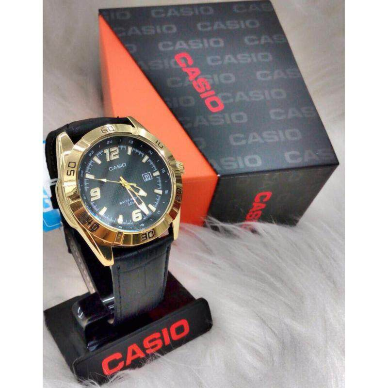 Black Strap with Black Dial Casio Watch Malaysia