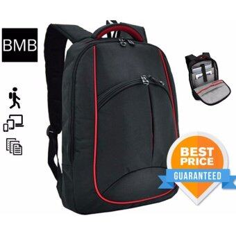 BMB Laptop Computer Travel Casual Business Office Backpack Bag S02-264LAP-01 Red Line