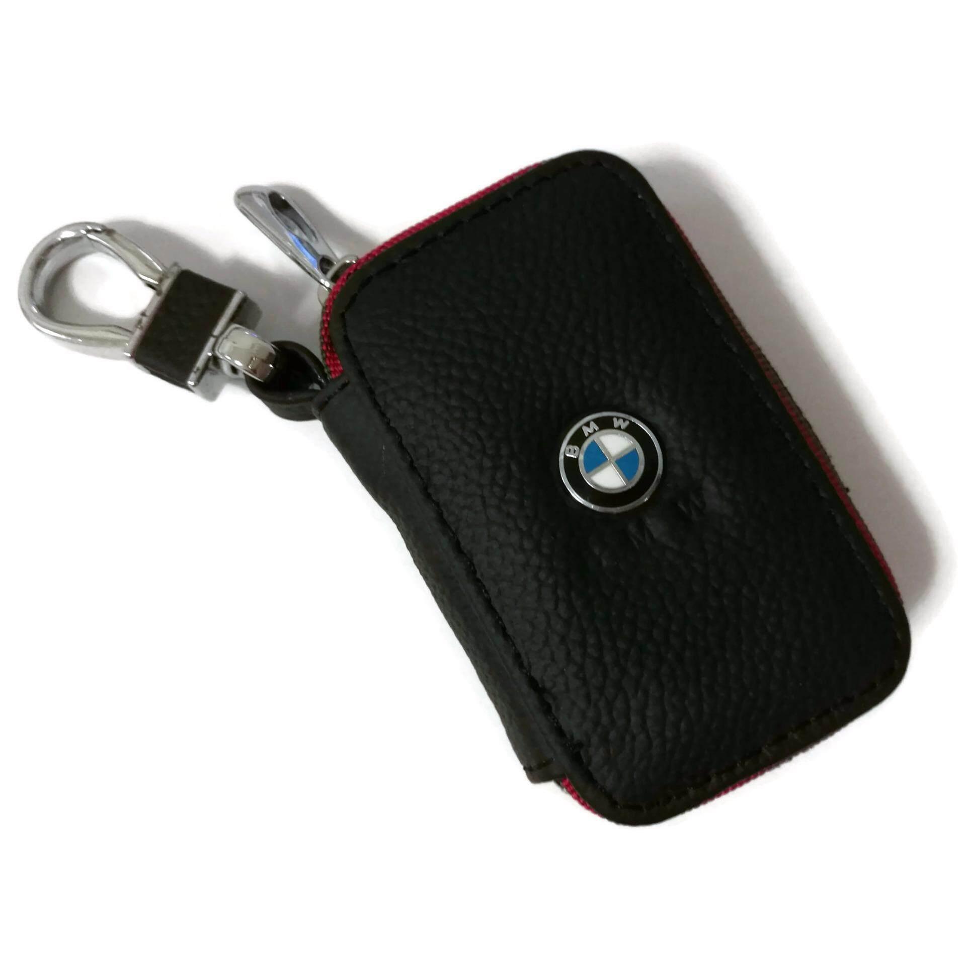 Bmw car key pouch key chain key holder genuine leather type c lazada malaysia