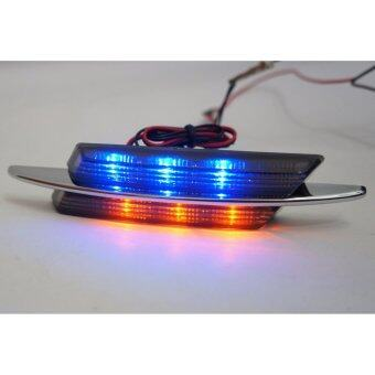 Harga BMW M-Sport Design Smoked Lens Chrome Fender Side Marker Lamps(Blue+Amber LED)