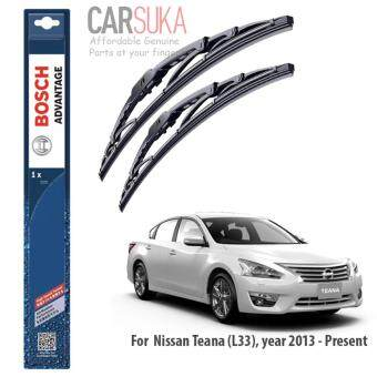 "Bosch Advantage Wiper Blade (set) for Nissan Teana L33 (2013-Present) 26\""/17\"", (100% Genuine Bosch Malaysia)"