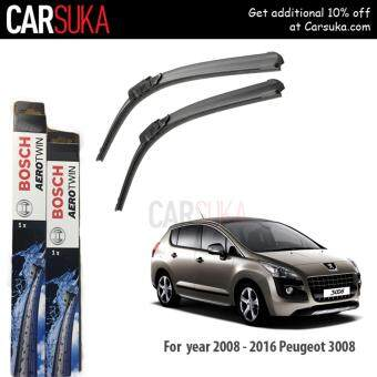 Harga Bosch AeroTwins Wiper Blade (Set) for Peugeot 3008 (2008-2016) 32?/28? (100% Genuine Bosch Malaysia)